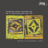 Disco Compositores Españoles del la Generación del 51